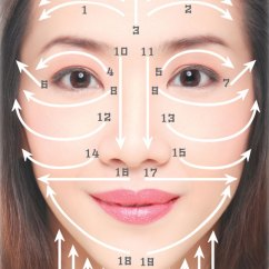 Diagram For Pimples On Face Parts Of A Speaker How To Do Gua Sha And Neck In 11 Easy Steps