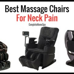 The Best Massage Chair Leather Oversized With Ottoman Top 4 Chairs For Neck Pain Complete Home Spa