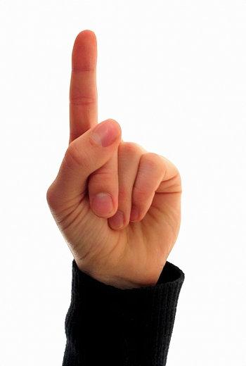 one_finger_350o