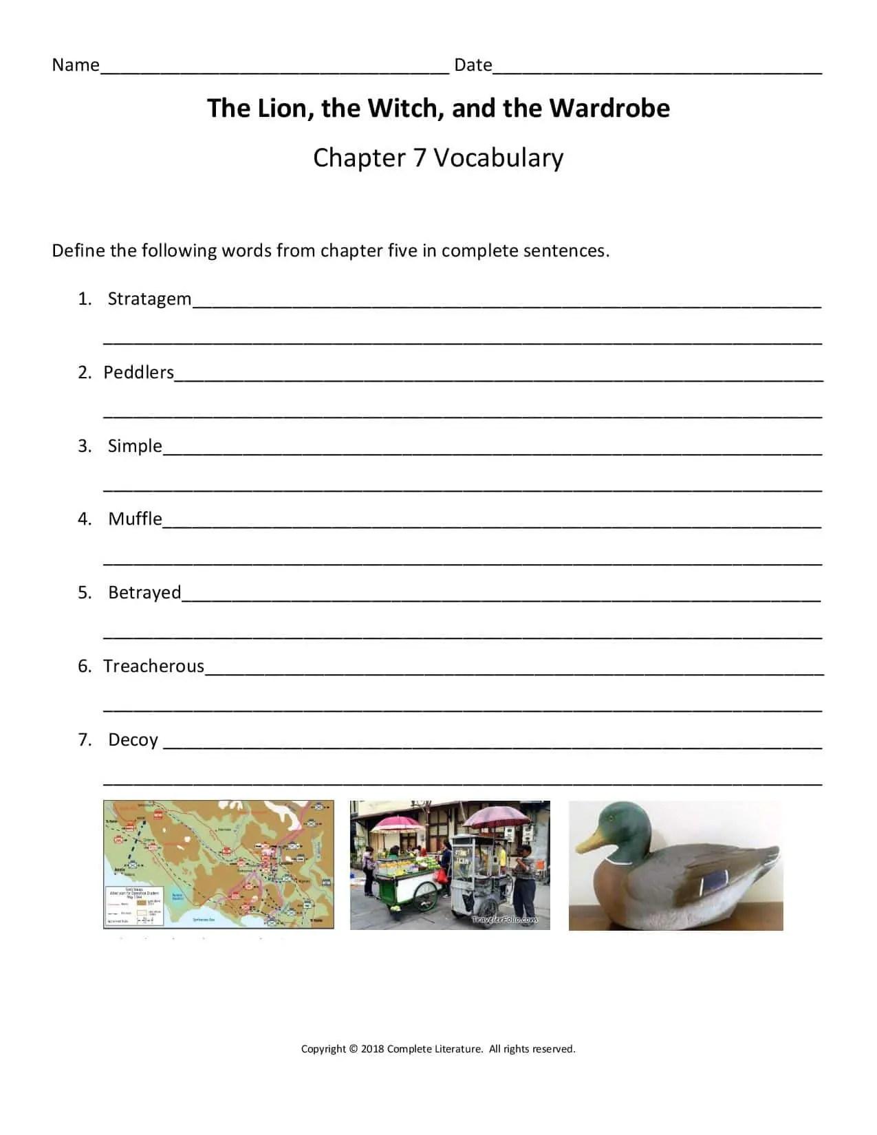 Lww Chapter Eight Complete Literature
