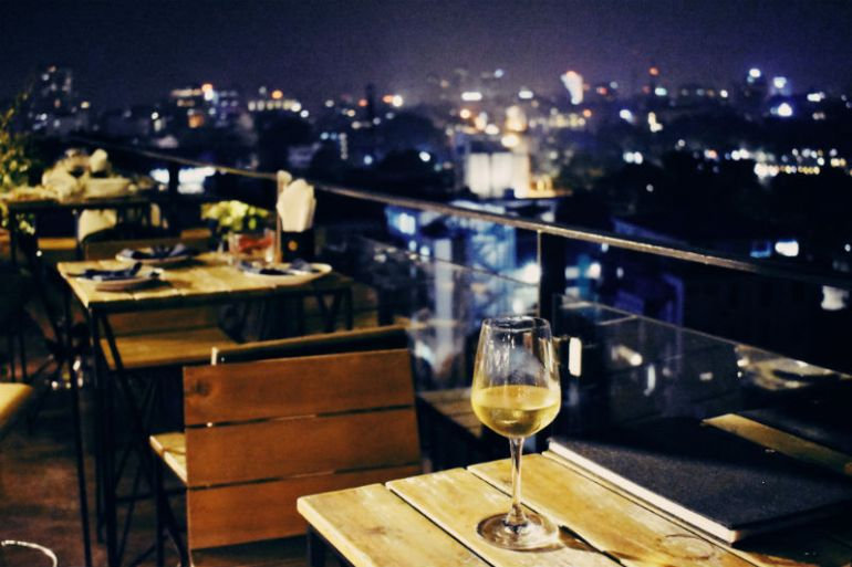 authentic hanoi hotel rooftop lounge