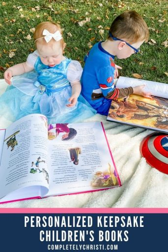 Personalized children's book for babies, toddlers, preschoolers, and kids of all ages. Including your favorite Disney characters!