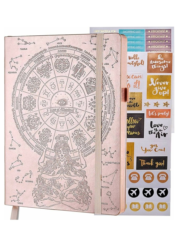 5 Essential Self-care Tools to Help You Find Your Inner Zen! Law of Attraction Planner.