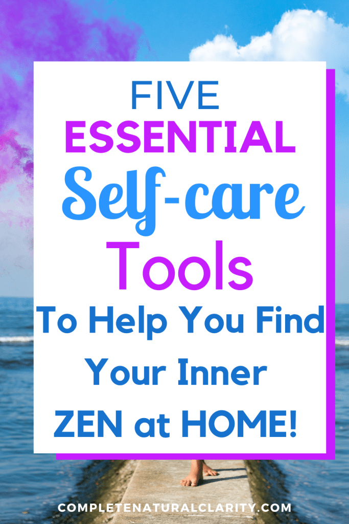 5 Essential Self-care Tools to Help You Find Your Inner Zen at HOME! Self-care is your foundation to ultimate wellness, especially in the midst of a health crisis! Here are some tips & tools to help you implement more Self-care into your life so that you can be at your very best while social distancing & staying home during the current Coronavirus global pandemic. These Wellness tips will help you de-stress, relieve anxiety, find ways to do more of what you love, & take charge of what you CAN control in order to find balance in the midst of crisis! #selfcare #mindfulness #wellness #meditation #stressrelief #anxietyrelief