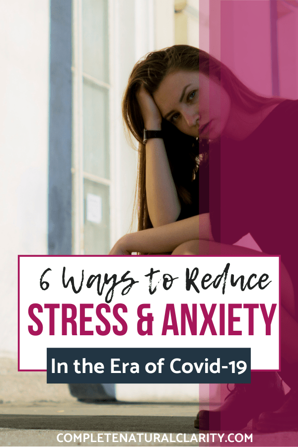 6 Ways to Reduce Stress & Anxiety During the Covid-19 Pandemic while Social Distancing by focusing on aspects we CAN control in our lives! This post is full of Selfcare & Wellness tips to relieve tension and stress during this time of uncertainty & fear. We have to shift our focus, recharge our bodies, & make the most of our time & surroundings! Click to read how! #anxietyrelief #stressrelief #covid19 #quarantine #socialdistancing
