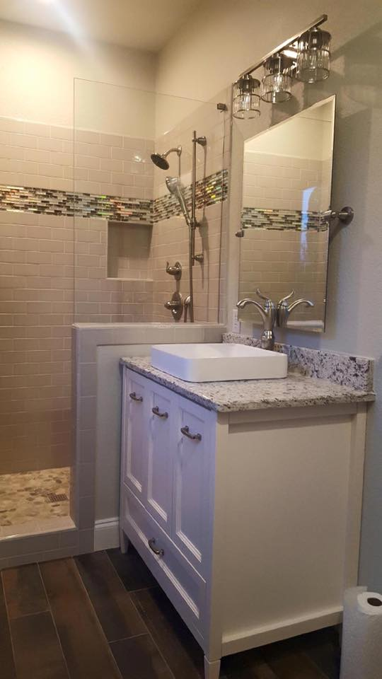 Guest Bathroom Remodel  Remodeling Contractor  Complete