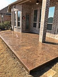 Stamped Concrete Patio | Remodeling Contractor | Complete ...