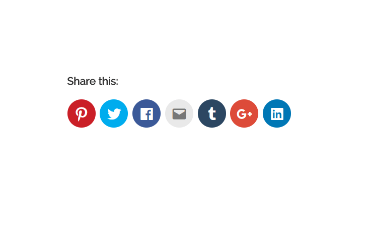 How to add Social Share Buttons in WordPress site.