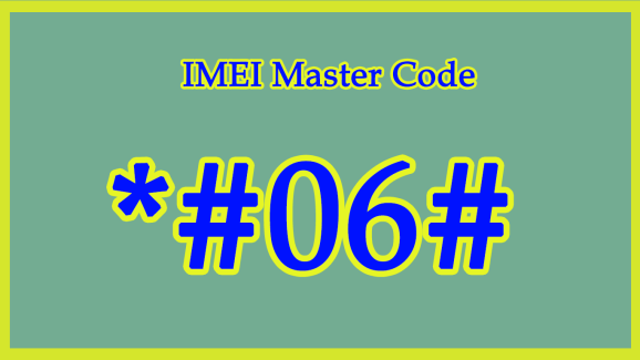 IMEI Master Code