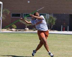 javelin thrower, Boo Schexnayder