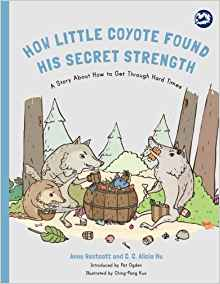 how little coyote found his secret strength-book