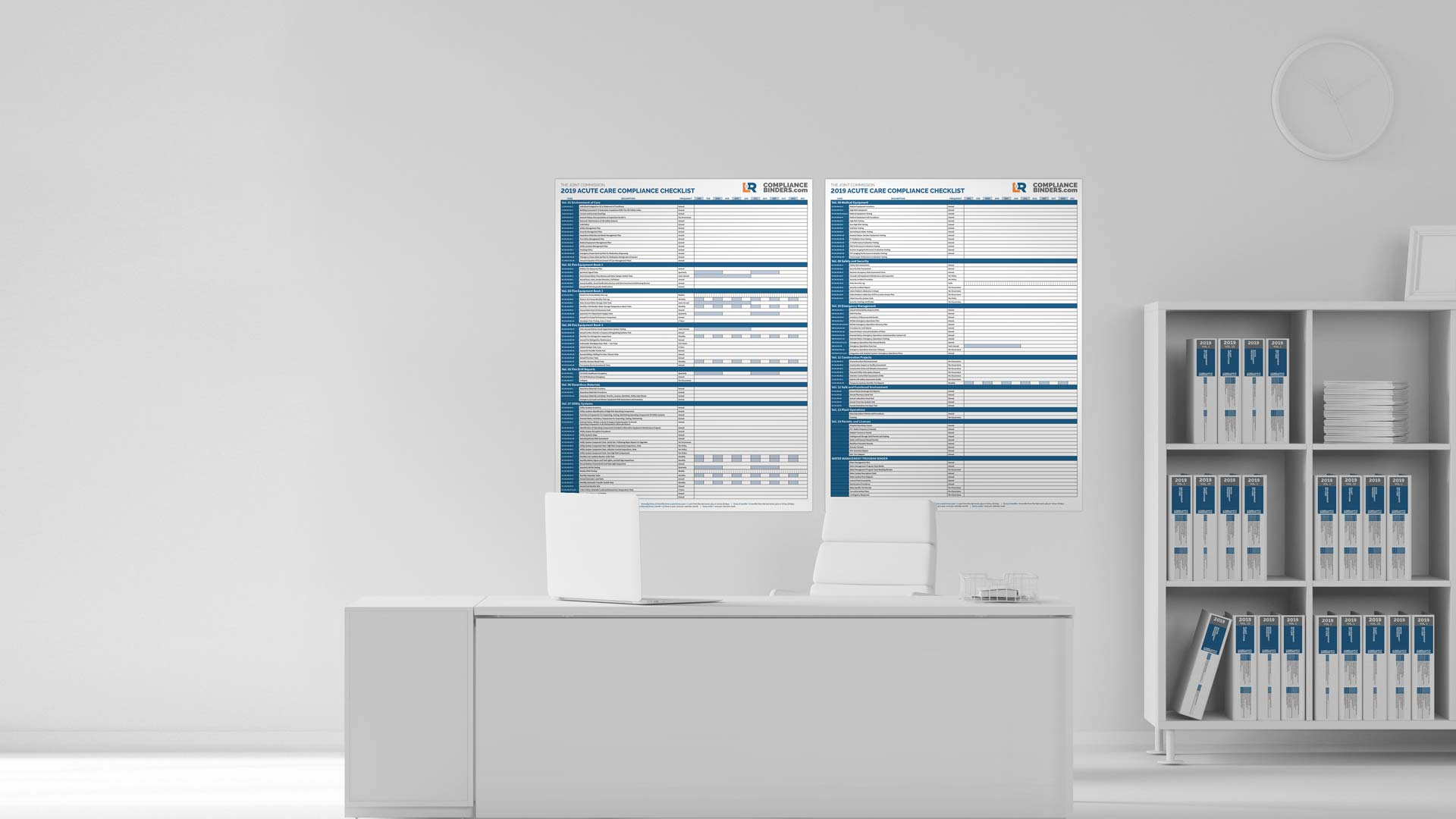 Joint Commission Inspection Checklist Binders