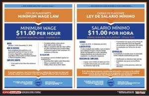 2018 arizona minimum wage posters now