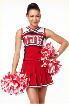 "Santana from ""Glee"""