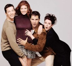 """Jack and Will from """"Will & Grace"""""""