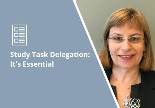 Study Task Delegation
