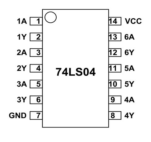 NOT GATE IC 7404 DATASHEET DOWNLOAD