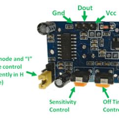 Pir Switch Wiring Diagram Opel Corsa D Hc Sr501 Sensor Working Pinout Datasheet Pin