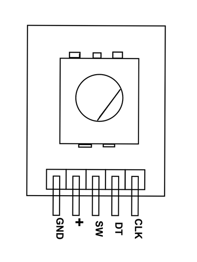 Rotary Encoder Pinout, Features, Circuit and Working