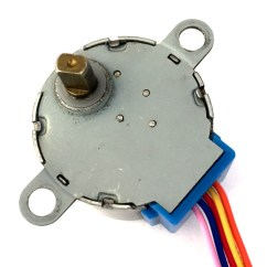 S Drive Wiring Diagram Bazooka Speaker 28byj 48 Stepper Motor Pinout Specifications Uses Guide
