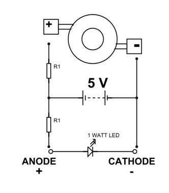 1 Watt LED Pinout, Features, Uses & Datasheet
