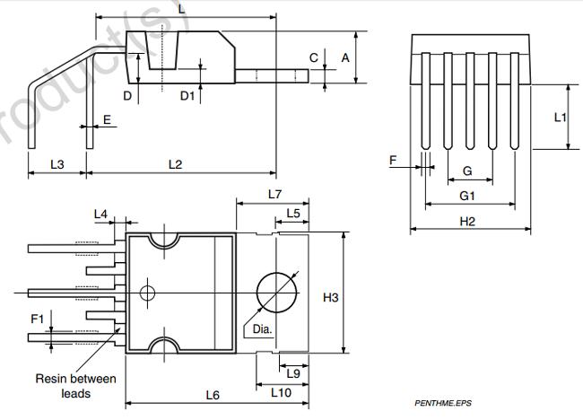 DATASHEET AN5522 PDF