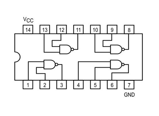 74LS00 Pinout, Configuration, Equivalent, Circuit & Datasheet