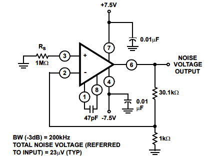 CA3130 MOSFET Op-Amp Pin Diagram, Specifications