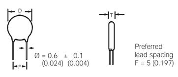 Ceramic Capacitor Pinout, Description, Parameters & Datasheet