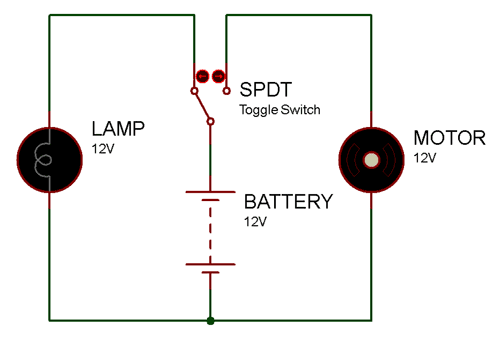 spdt toggle switch pinout connections how to use it
