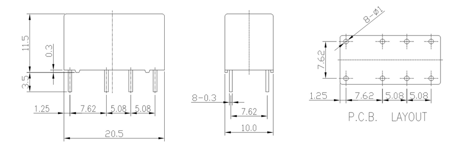 Hk19f Dpdt Relay Pinout Features Equivalents Working