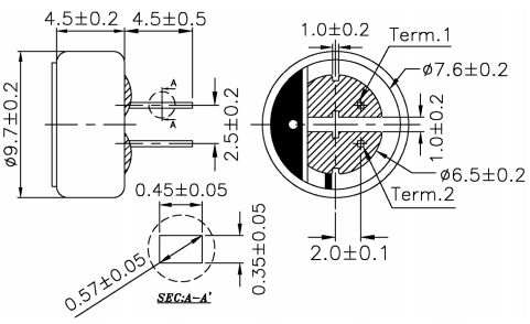 Electret Condenser Microphone Pinout, Features, Datasheet