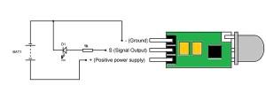 HCSR505 PIR Sensor Pinout, Features, Circuit & Datasheet