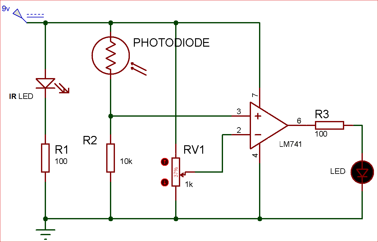 hight resolution of ir sensor circuit diagram