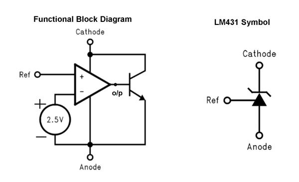 LM431 Zener Shunt Regulator Pinout, Features, Circuit