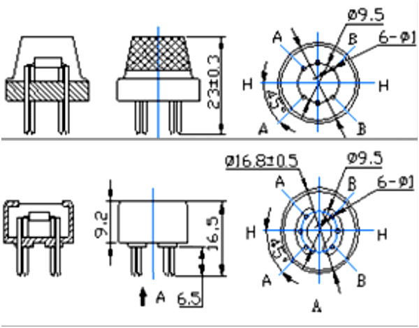 MQ-6 Gas Sensor Pinout, Specs, Equivalent, Circuit & Datasheet