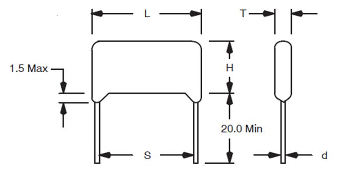Schematic Diagram Capacitor