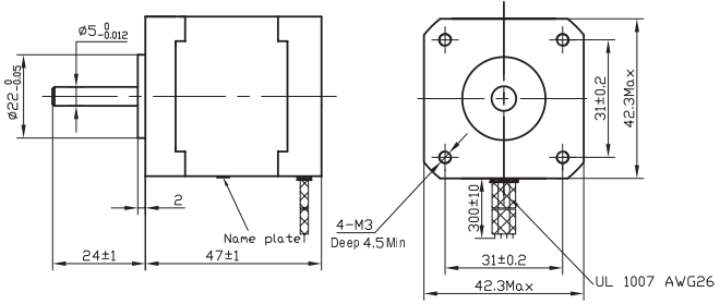 NEMA 17 Stepper Motor Datasheet, Wiring, Specs & Alternatives