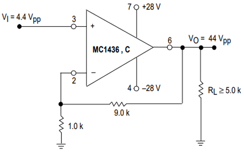 MC1436 Op Amp IC Pinout, Datasheet & Alternatives