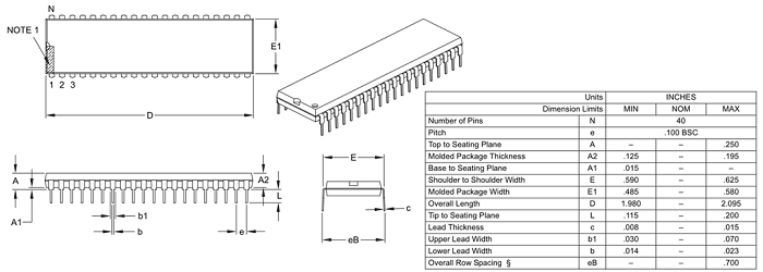 PIC18F4550 Microcontroller Pinout, Features & Datasheet