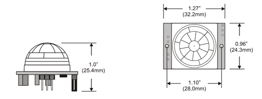 pir switch wiring diagram time warner cable box hc sr501 sensor working pinout datasheet dimensions
