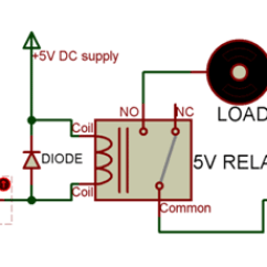 12v 30a Relay 4 Pin Wiring Diagram Taotao Electric Scooter 5v Pinout Description Working Datasheet How To Use