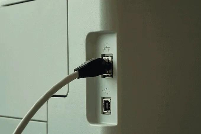 kabel printer tidak terdeteksi