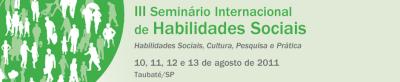 III Seminário Internacional de Habilidades Sociais 5
