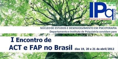 I Encontro de ACT e FAP no Brasil - São Paulo/SP 5