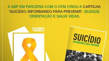 Associação Brasileira de Psiquiatria lança cartilha sobre detecção de risco e prevenção de suicídio 17