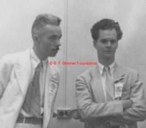Fred Keller e Burrhus Skinner, em 1938.