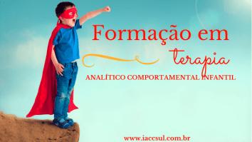 Curso de Formação em Terapia Analítico Comportamental Infantil 11