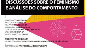 I Encontro do Coletivo Feminista Marias & Amélias de Mulheres Analistas do Comportamento 16