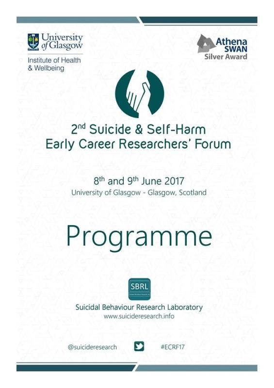 II Fórum de Investigadores em Suicídio e Autolesão 5